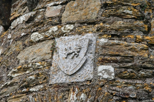 mysterious coat of arms.