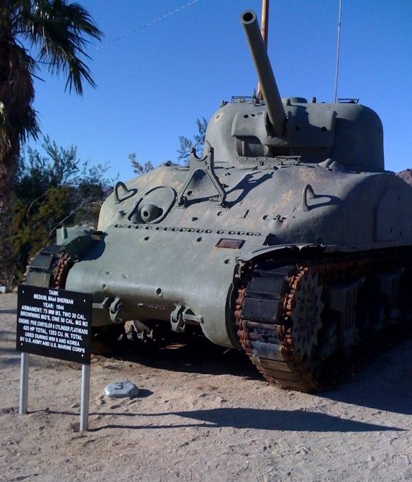 """aka, """"Sherman Tank"""""""
