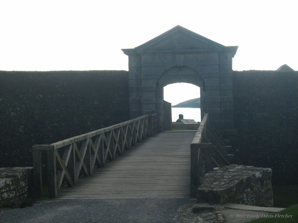 Bridge at Charles Fort, Kinsale, Co. Cork, Ireland