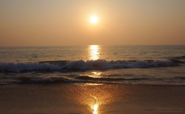 Path of Gold - Agonda Beach, Goa, India