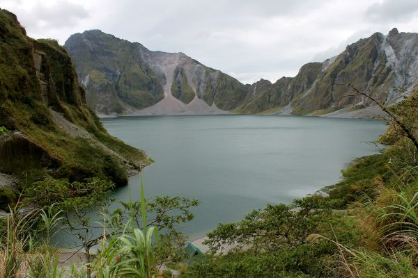 crater lake of Mount Pinatubo, Philippines