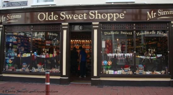 Mr. Simms Olde Sweet Shoppe on Oliver Plunkett St Cork Ireland
