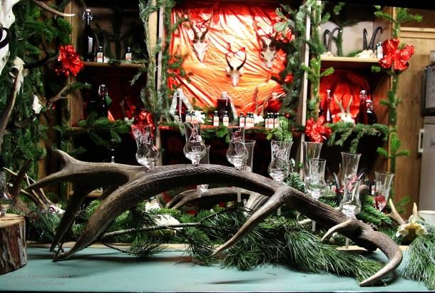 Christmassy dead things at Schloss Hellbrunn