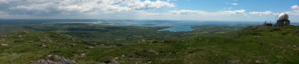 Mount Gabriel panorama