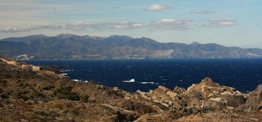 Winter view of Cap de Creus