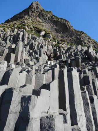 basalt columns at Reynisfjara Iceland